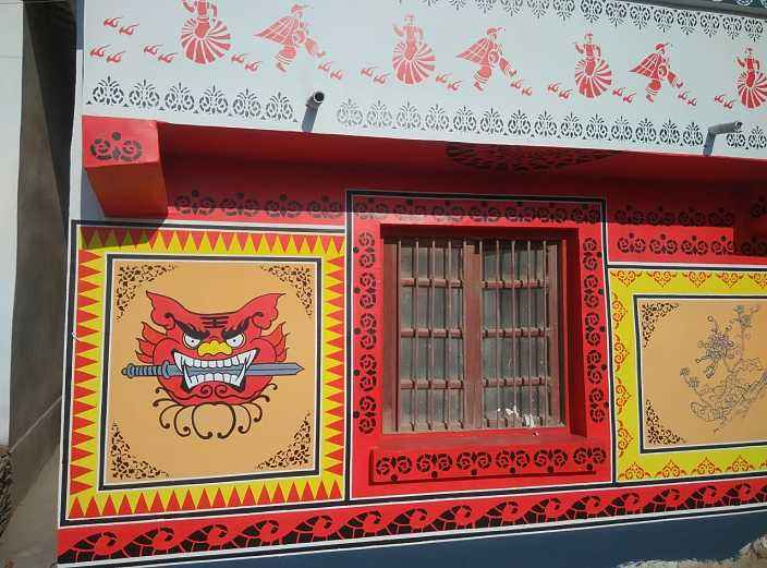 萍乡文化墙墙体彩绘,萍乡墙画涂鸦,萍乡墙面绘画,萍乡绘画墙面