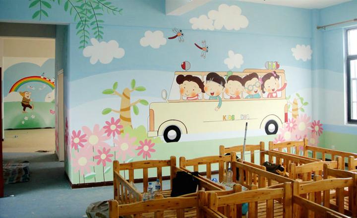 萍乡餐馆墙体彩绘,萍乡外墙绘画,萍乡手绘墙壁画,萍乡墙绘幼儿园